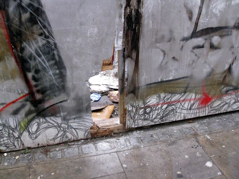 Street graffit