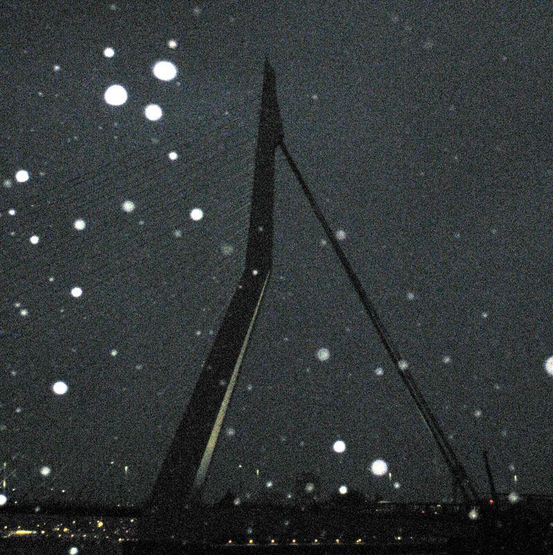 Bridge and snow